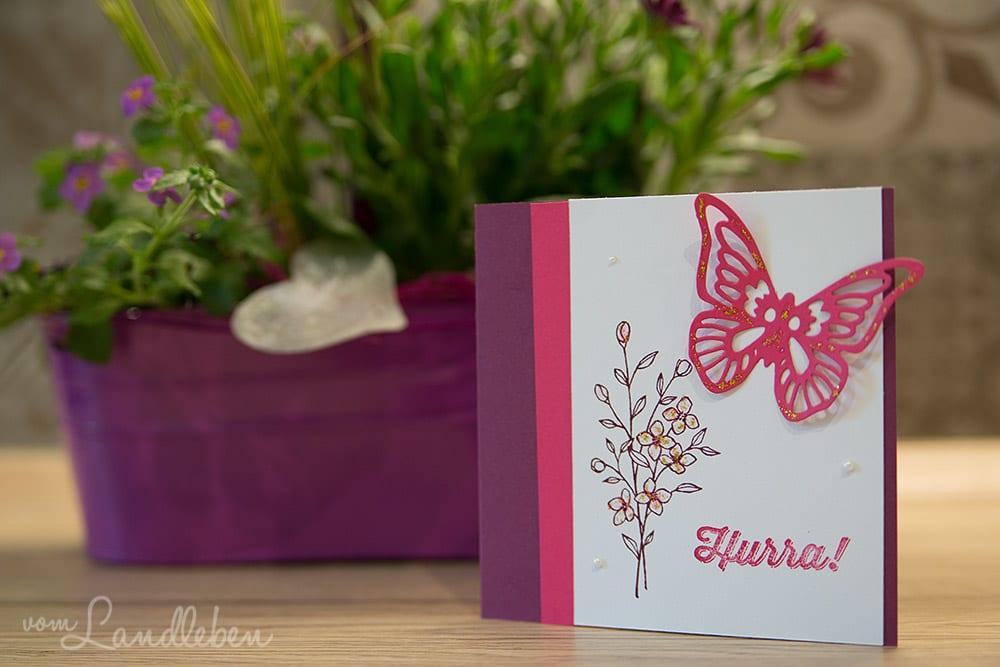 DIY-Hochzeitskarte – Stampin' Up!