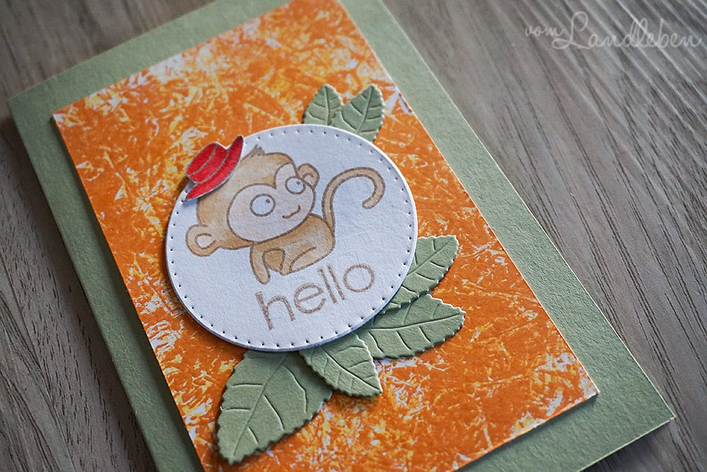 Kartengebastel: Hello Willy & Friends