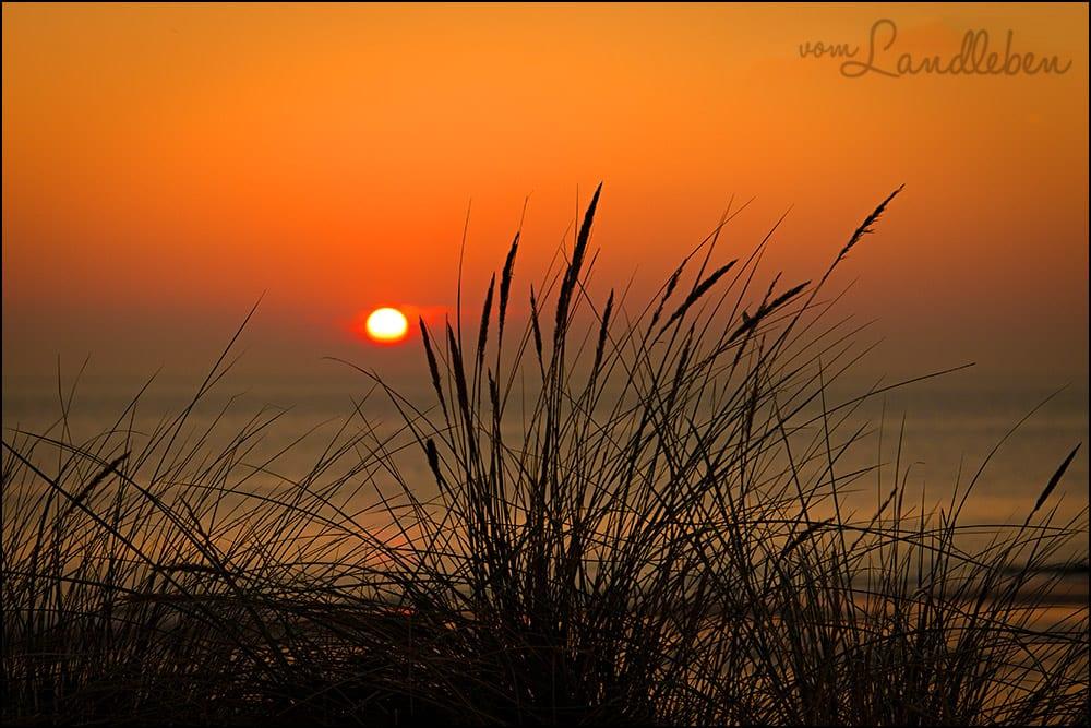 Sonnenuntergang am Strand in Zoutelande