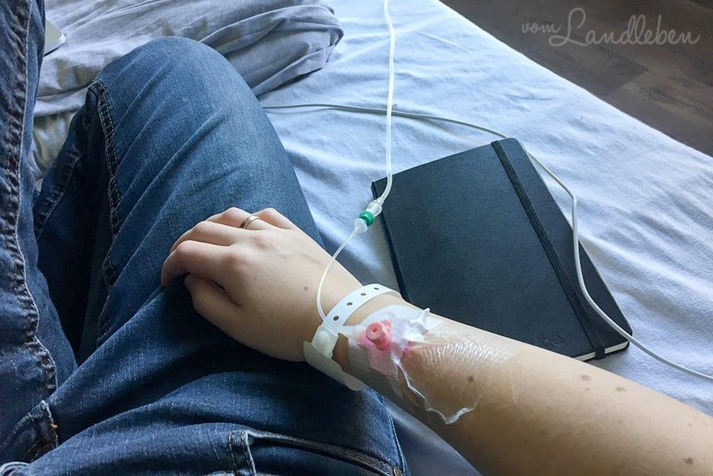 Kortison i.v. im Krankenhaus
