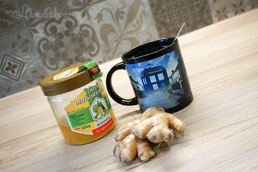 #pmdd24 – Ingwertee mit Honig
