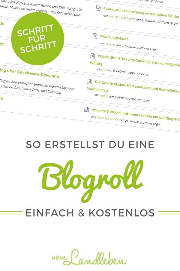 Tutorial: Blogroll für dein WordPress-Blog erstellen