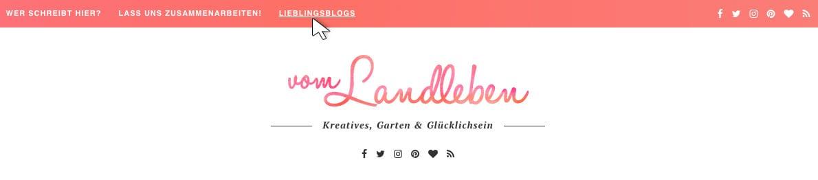 Blogroll auf vom Landleben
