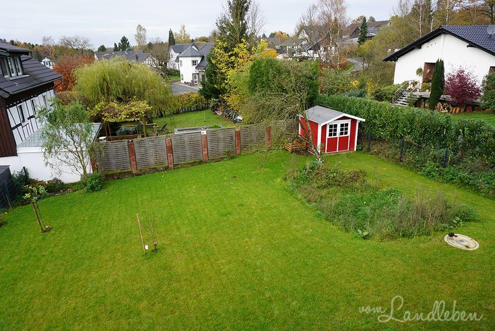 Unser Garten im November 2017