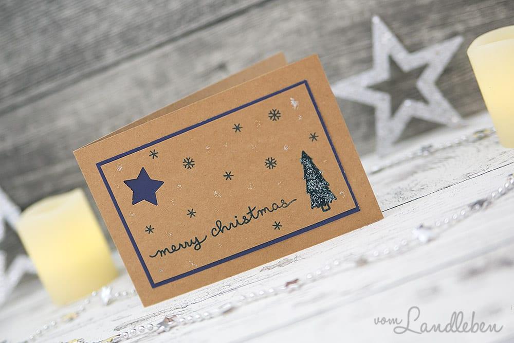 das 5 t rchen beim blogventskalender weihnachtskarten. Black Bedroom Furniture Sets. Home Design Ideas