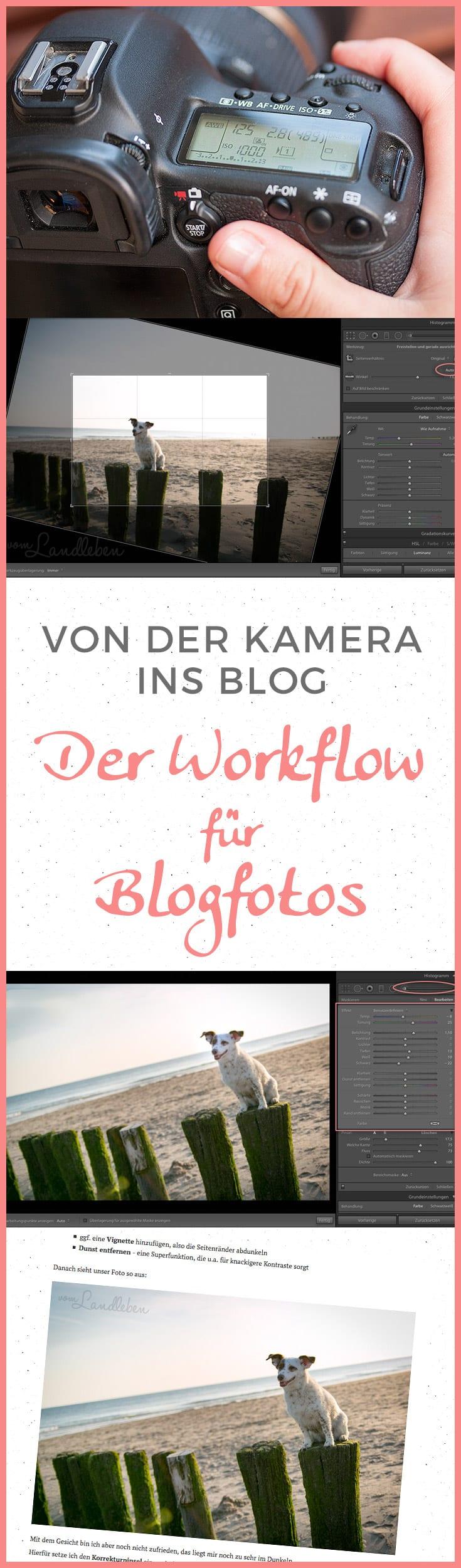 Von der Kamera ins Blog: der Workflow für Blogfotos – ein Tutorial