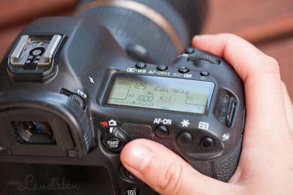 Workflow beim Fotografieren