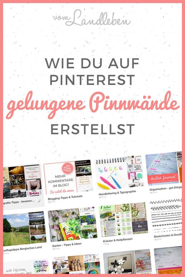 Pinterest-Tutorial: Tipps zum Erstellen einer erfolgreichen Pinnwand