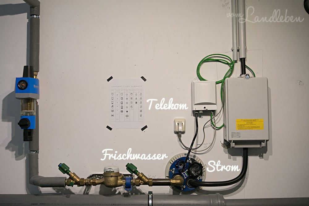 Roomtour – Waschküche / Haustechnikraum