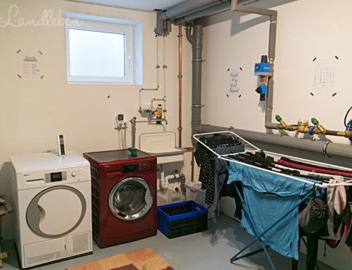 {Roomtour} Waschküche & Haustechnikraum