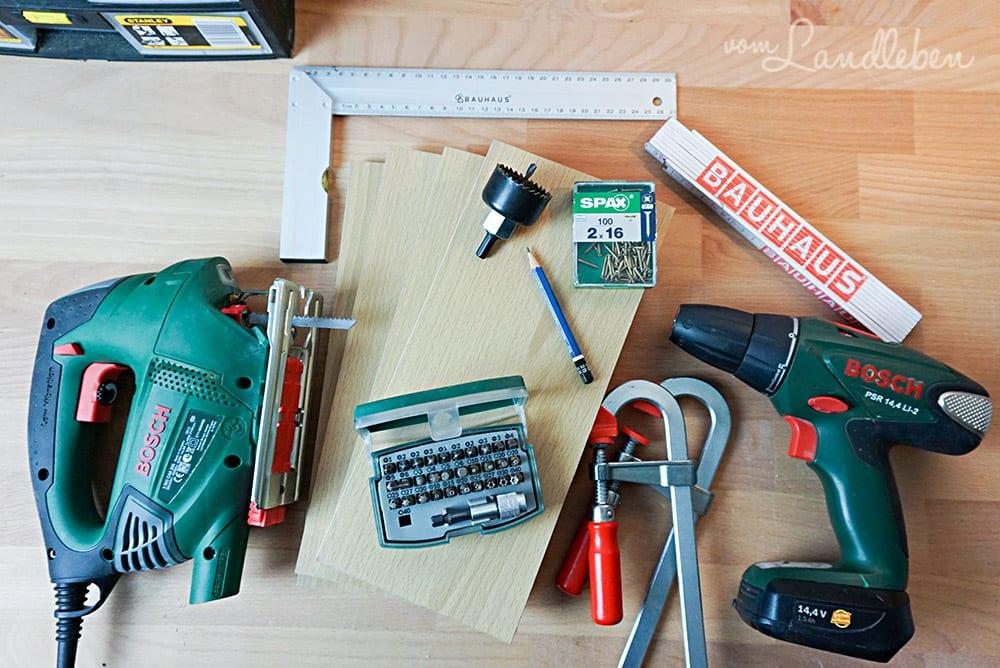DIY-Flaschenhalter bauen – Anleitung