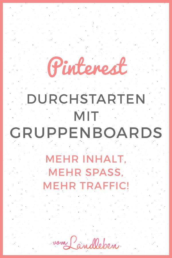 Pinterest: Durchstarten mit Gruppenboards