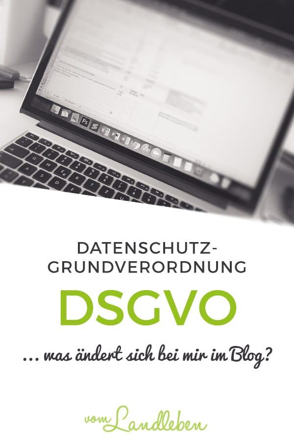 DSGVO – Datenschutzgrundverordnung