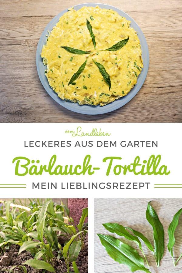 Rezept für leckere Bärlauch-Tortilla