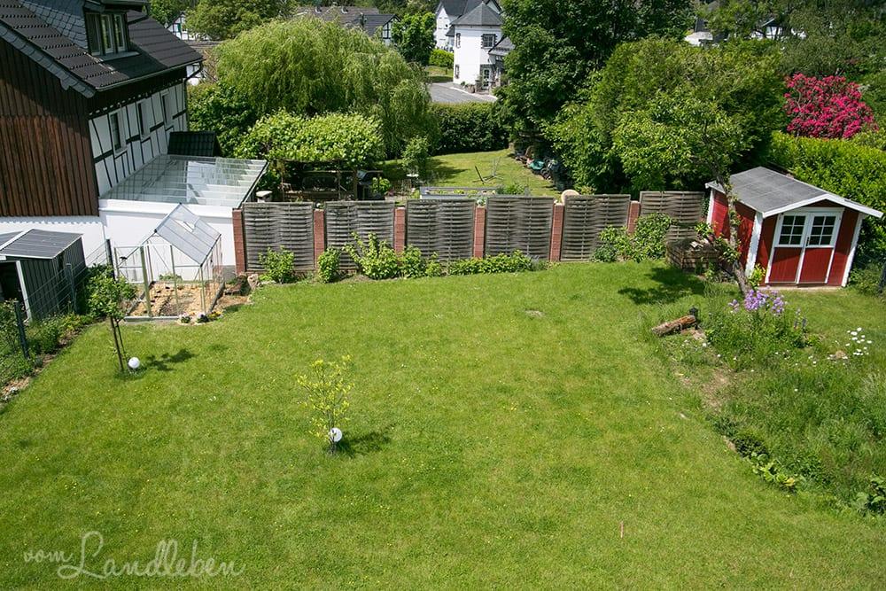 Unser Garten im Mai 2018