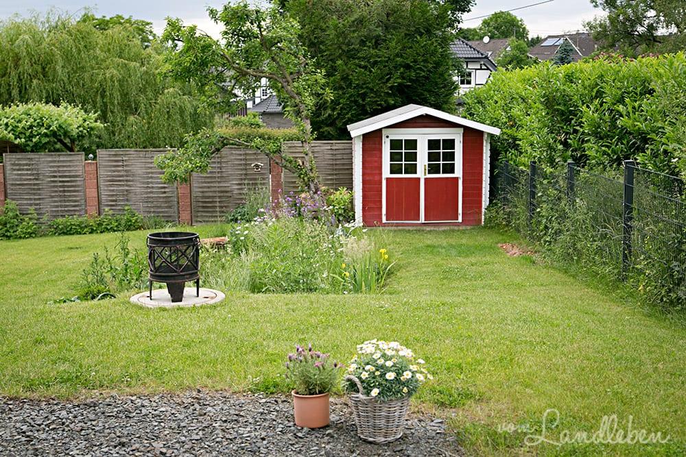 Hinten im Garten – Mai 2018