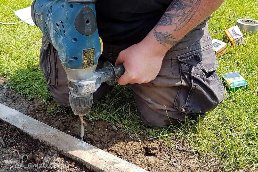Gewächshaus aufbauen