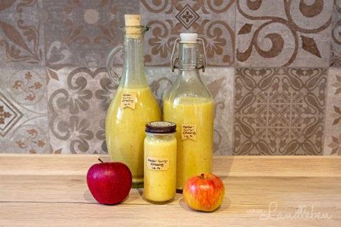 Apfel-Curry-Dressing