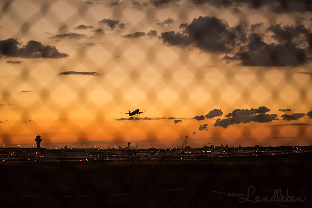 Flugzeuge fotografieren am Flughafen Köln/Bonn