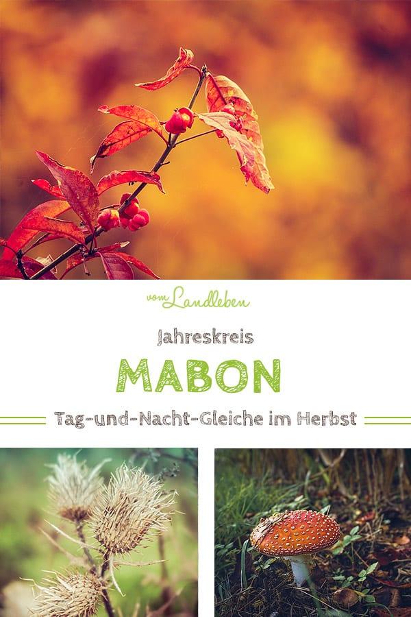 Mabon - Tag-und-Nacht-Gleiche im Herbst