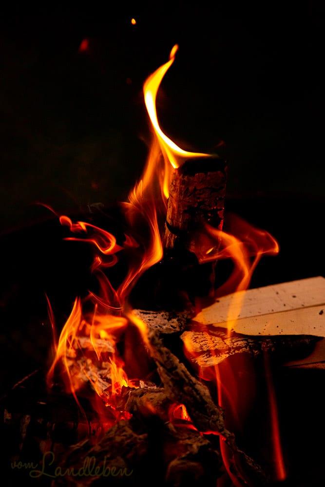 Feuer zu Samhain