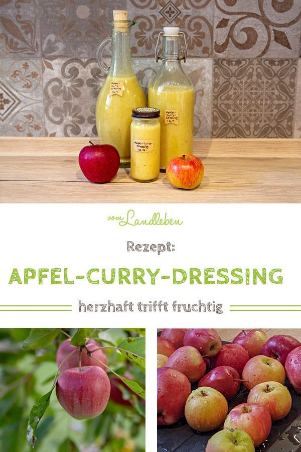 Rezept: Apfel-Curry-Dressing aus dem Thermomix