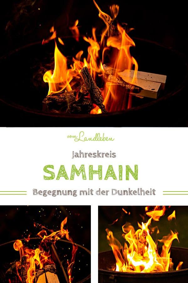 Samhain: Begegnung mit der Dunkelheit - Jahreskreis