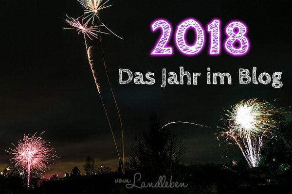 2018 - Das Jahr im Blog