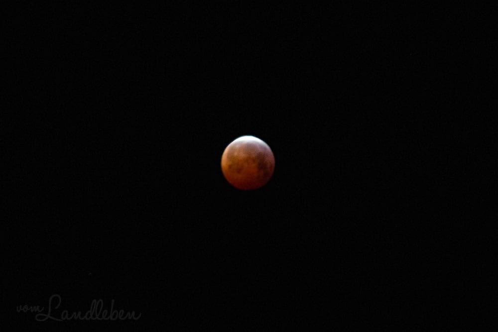 Blutmond - Mondfinsternis im Januar 2019