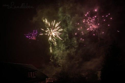 Feuerwerk an Silvester 2018