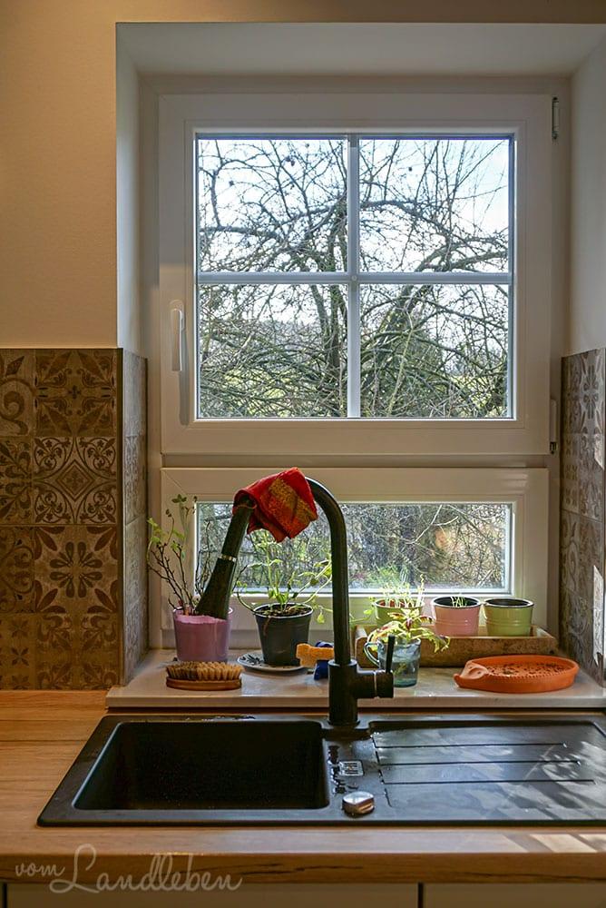 Küchenfenster in unserem Danhaus