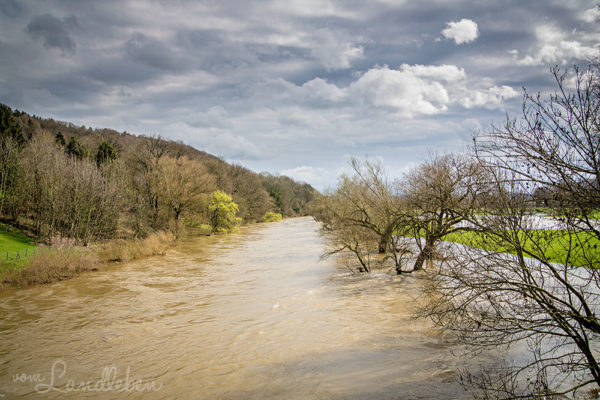 Hochwasser an der Sieg