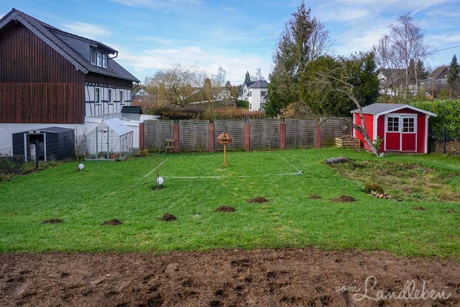 Pläne für den Bauerngarten