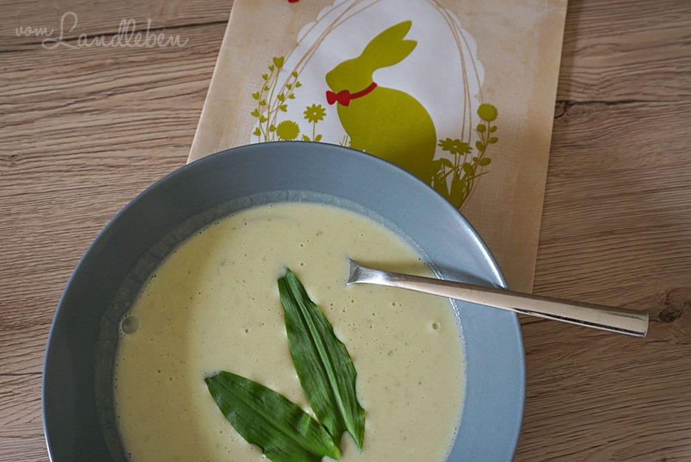 Rezept: Bärlauch-Suppe
