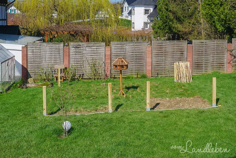 Unser Bauerngarten entsteht