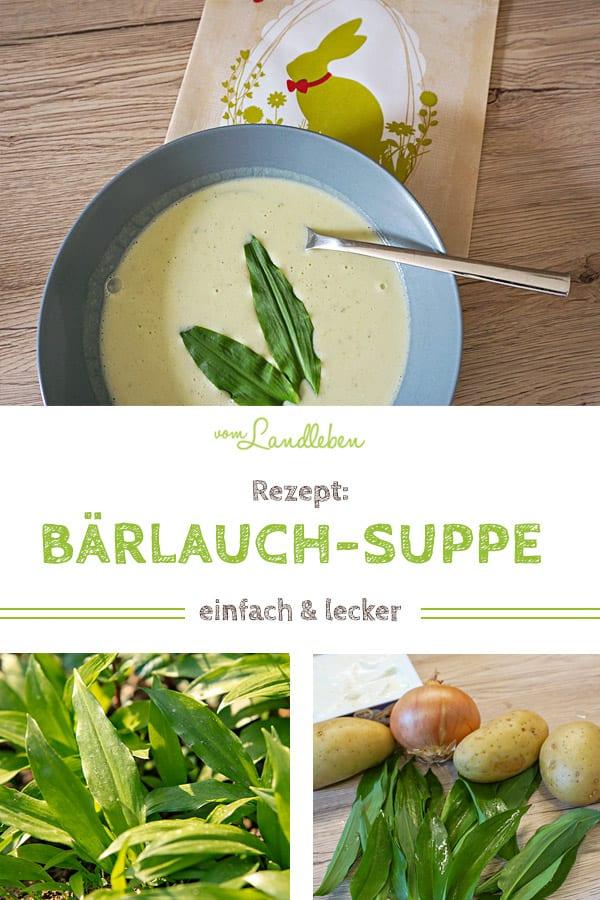 Rezept: Bärlauch-Suppe - einfach und lecker