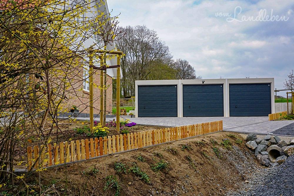Zaun für den Vorgarten