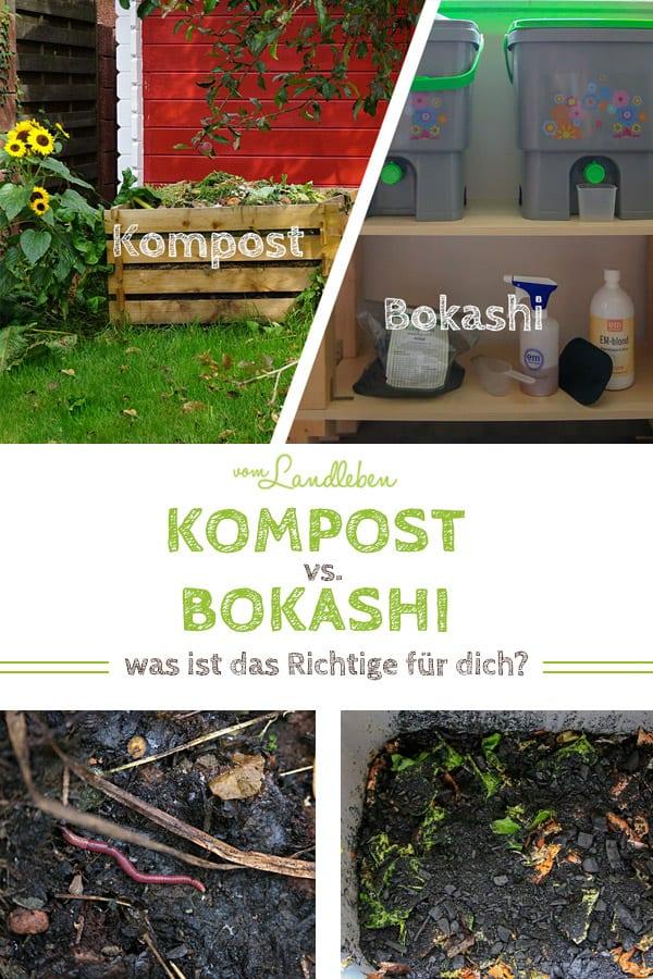 Kompost vs. Bokashi - Vorteile, Nachteile und was ist das Richtige für dich?