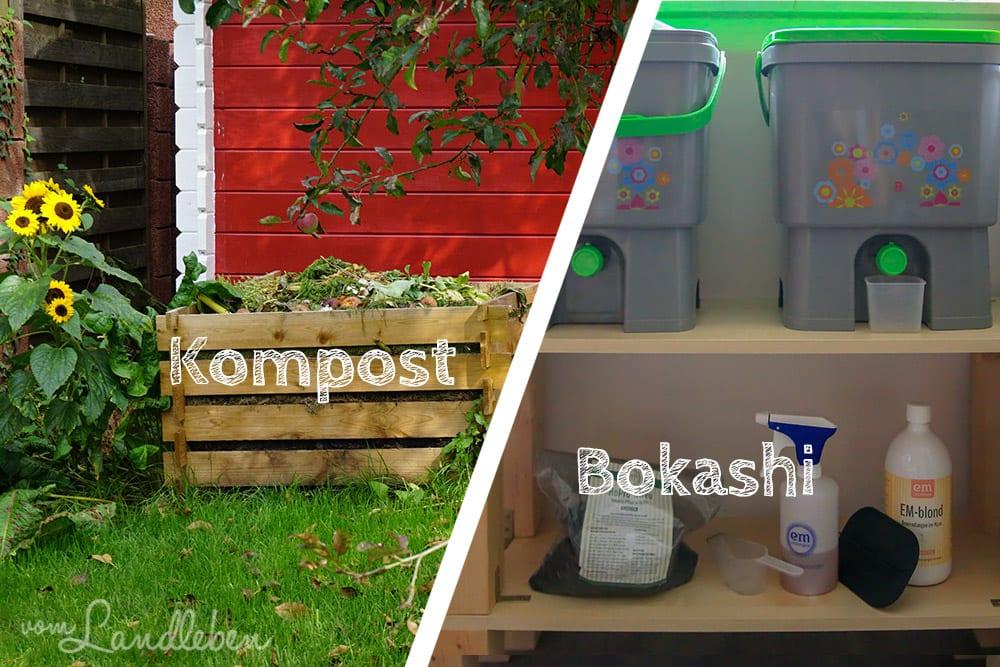 Kompost vs. Bokashi