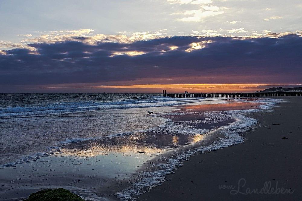 Abends am Strand in Zoutelande - Juni 2019