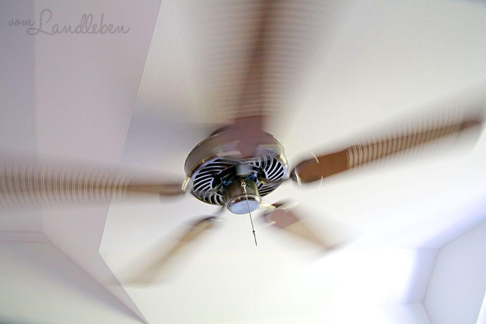 Ventilator in unserem Danhaus