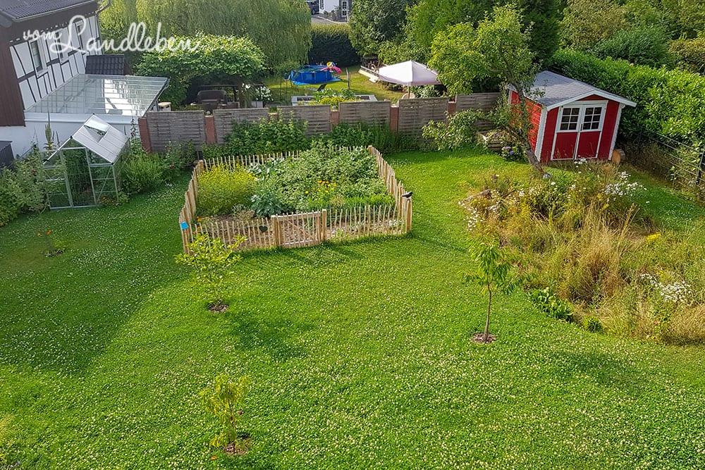 Unser Garten im Juli 2019