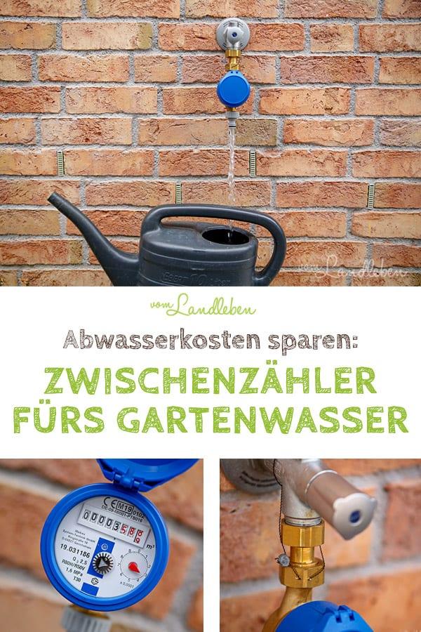 Mit einem Gartenwasserzähler kannst du Abwasserkosten sparen: wenn du mit Leitungswasser deinen Garten bewässerst, musst du dank eines Zwischenzählers nur noch das Frischwasser zahlen, nicht mehr das Abwasser. Unsere Erfahrungen: