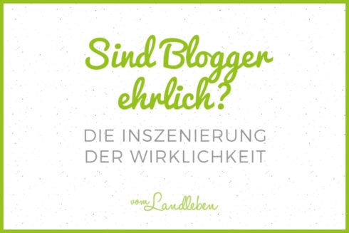Sind Blogger ehrlich? - Die Inszenierung der Wirklichkeit