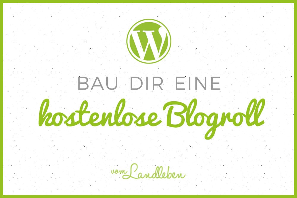 Blogroll in WordPress bauen mit Feedzy RSS Feeds Lite