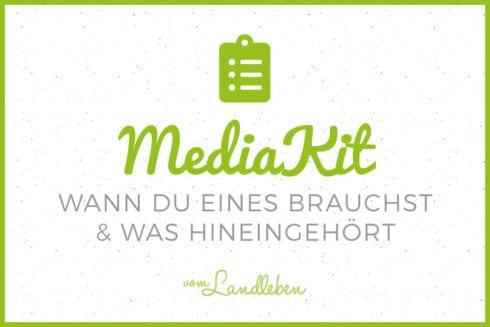 MediaKit für deinen Blog