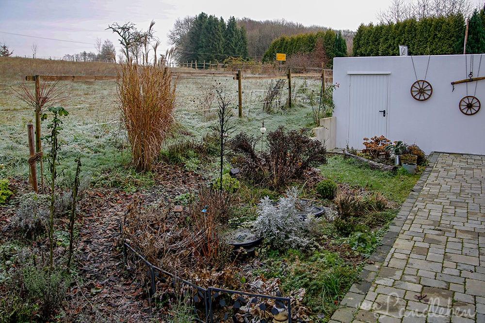 Mittelgarten im Dezember 2019