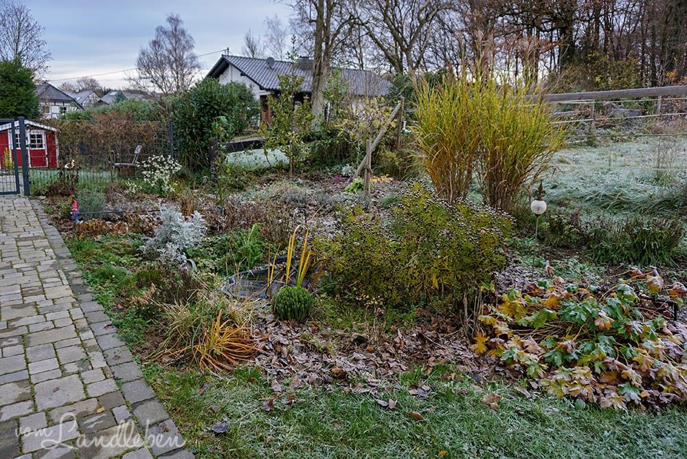Mittelgarten im November 2019