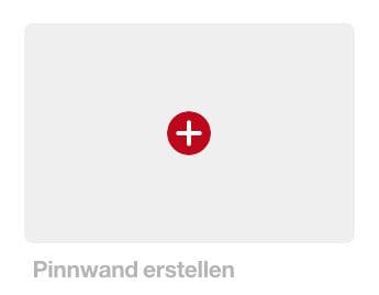 Pinterest - Pinnwand erstellen
