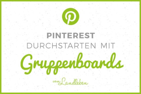 Pinterest-Tutorial: Gruppenboards